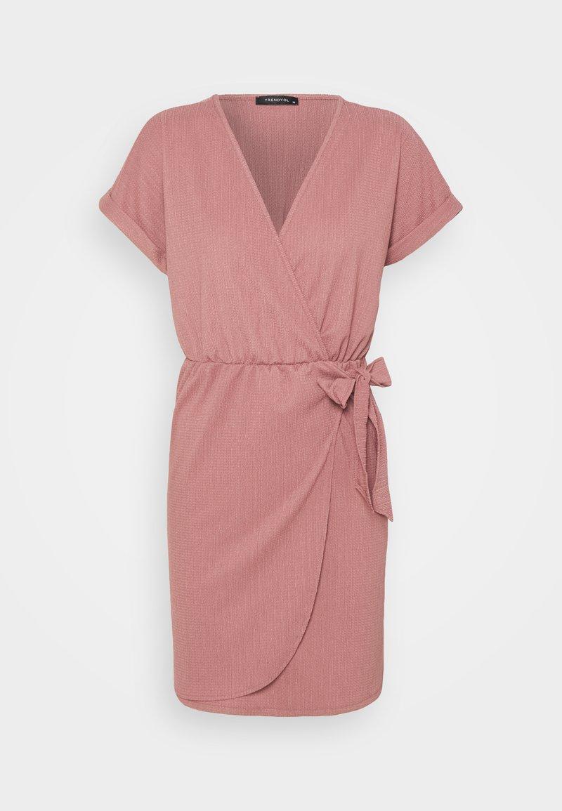 Trendyol - Jersey dress - rose