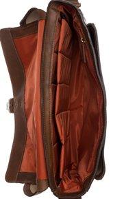 Jost - RANGER - Across body bag - cognac - 4