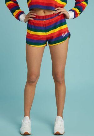 Szorty - gemustert multicolor