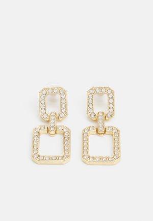 GIRETHA - Pendientes - gold-coloured/clear