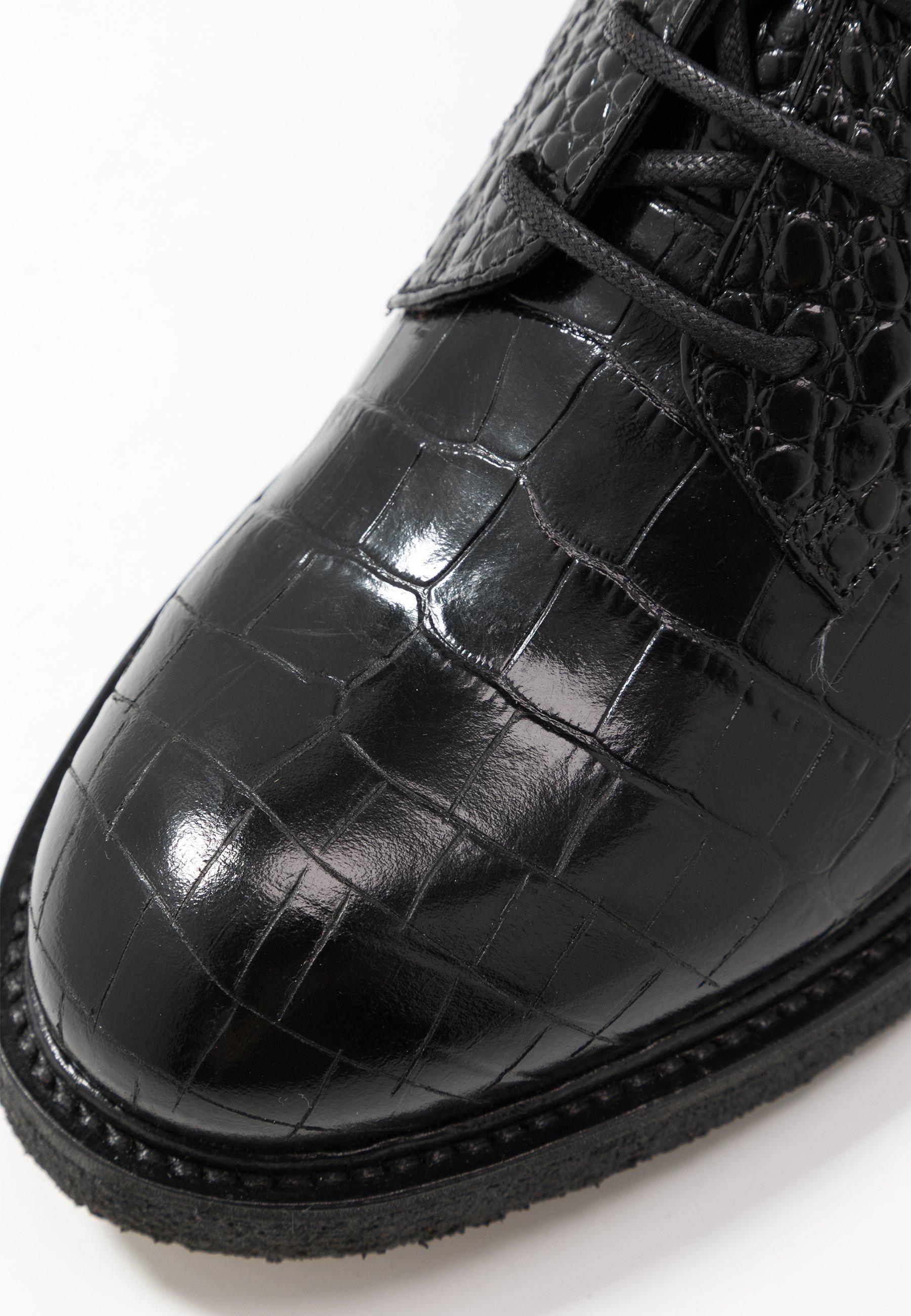 Billi Bi Nauhalliset nilkkurit - black louisiana - Naisten kengät ahh5o