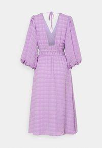 YAS - YASSHEILA MIDI DRESS - Sukienka letnia - sheer lilac - 1