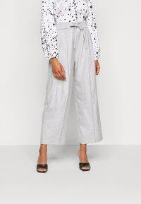 Topshop Petite - TONIC - Trousers - grey - 0