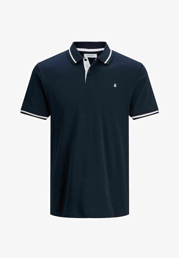 Jack & Jones Koszulka polo - navy blazer/granatowy melanż Odzież Męska FUFJ