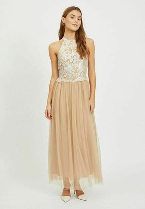 Occasion wear - beige, mottled