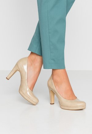 DA.-PUMPS - High Heel Pumps - dune