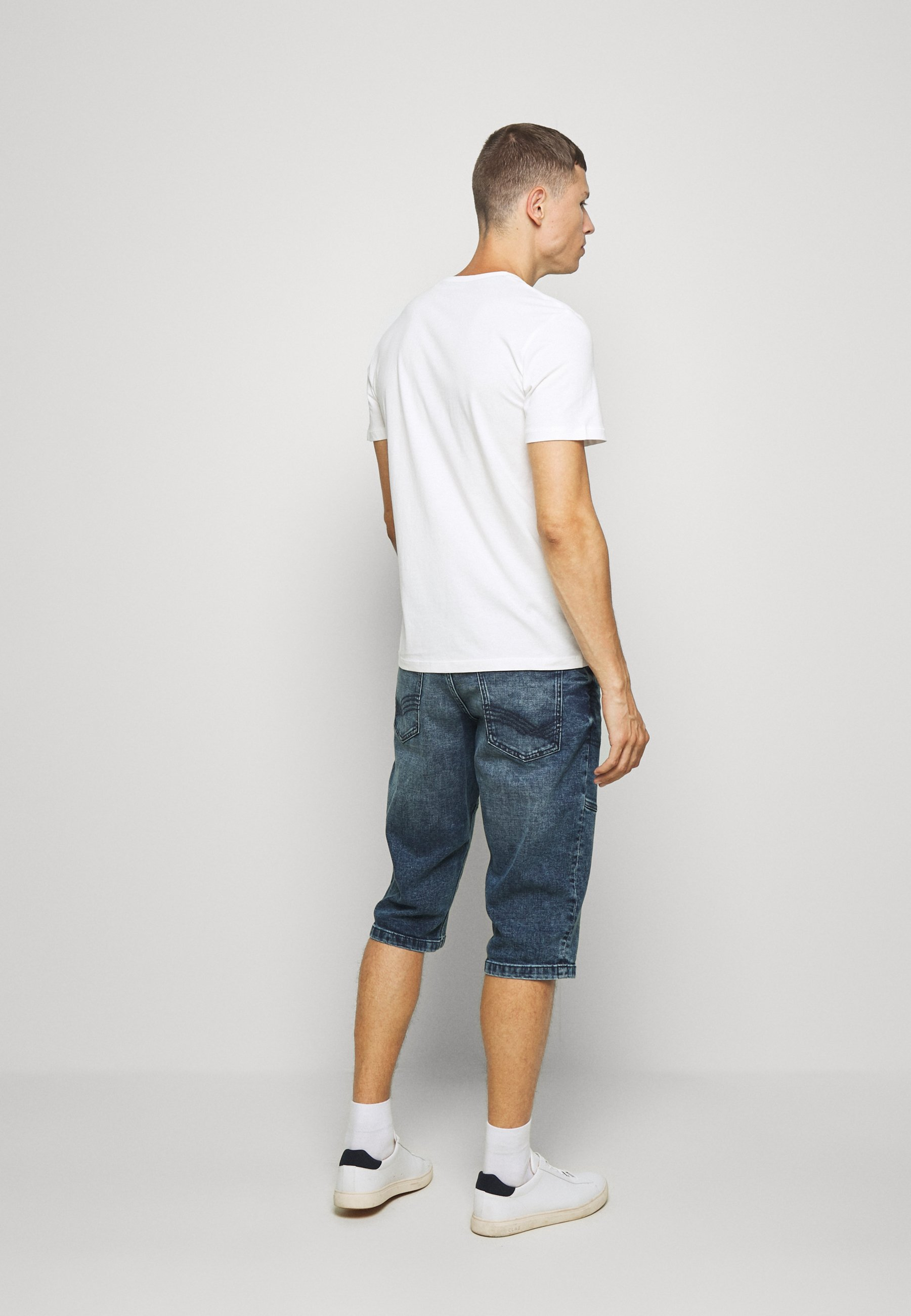 TOM TAILOR TEE WITH COLOR PRINT - Print T-shirt - off white IzsWI