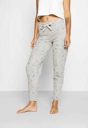 DEAL CUFF PANT - Pantaloni del pigiama - grey mix