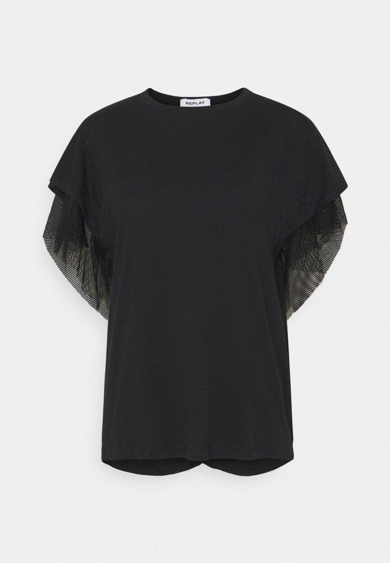 Replay - Print T-shirt - black beauty