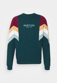 Kaotiko - UNISEX CREW SEATTLE - Sweatshirt - cloud - 0