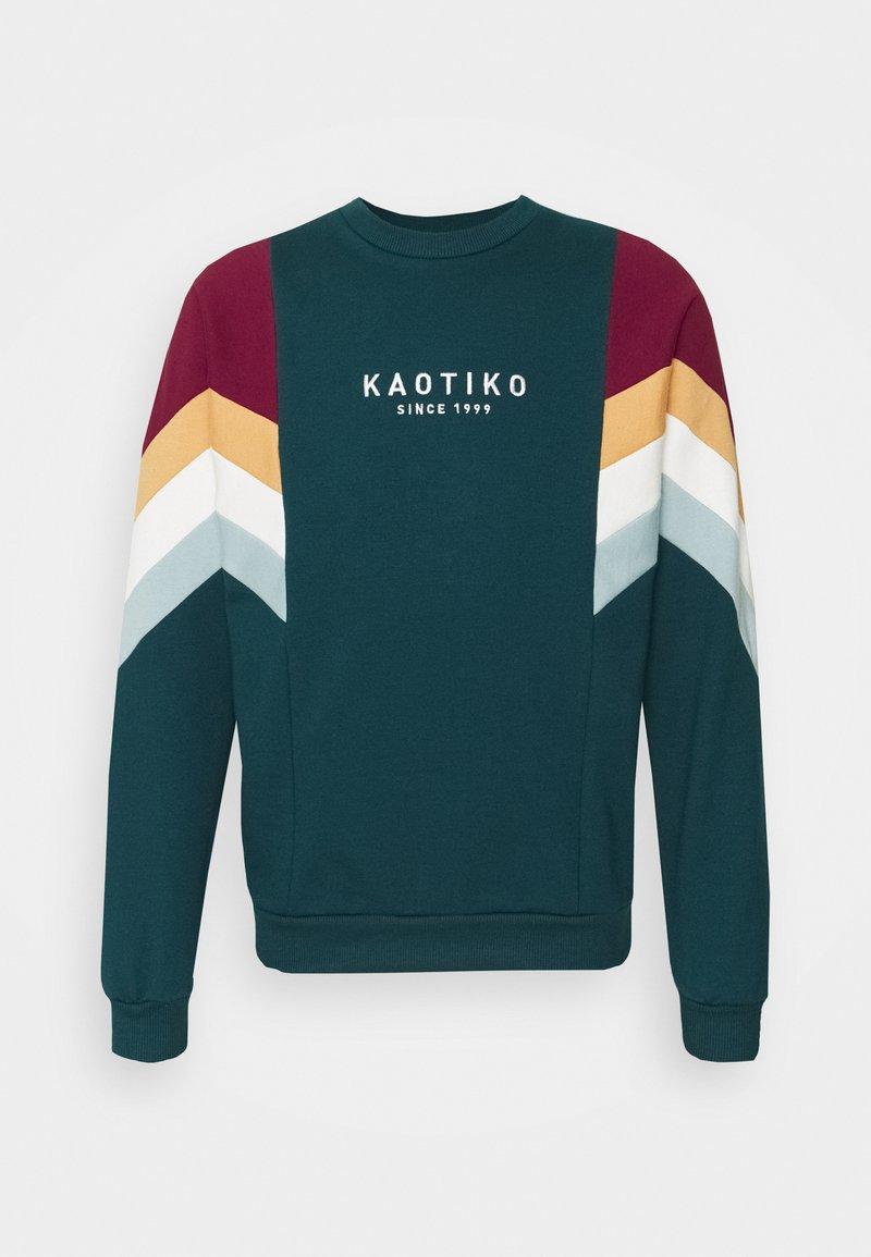 Kaotiko - UNISEX CREW SEATTLE - Sweatshirt - cloud