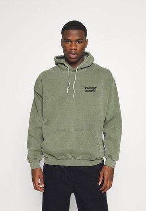 OVERDYE FLOW HOODIECORE COLOURS - Sweatshirt - khaki