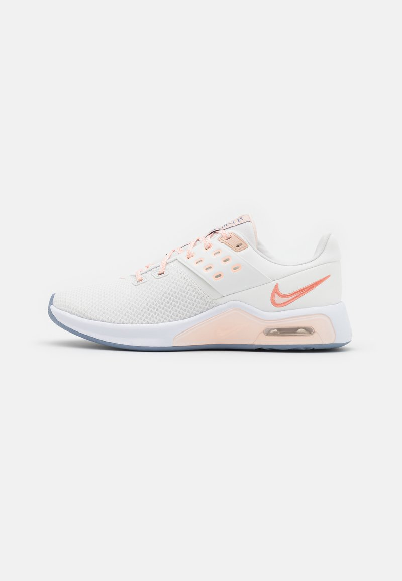 Nike Performance - AIR MAX BELLA TR 4 - Sports shoes - summit white/crimson bliss/orange pearl/crimson tint/white/ashen slate