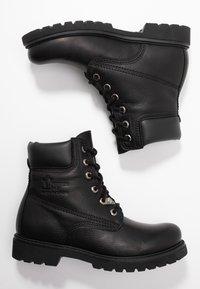 Panama Jack - Lace-up ankle boots - black - 3