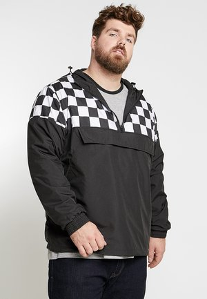CHECK PULL OVER JACKET - Windbreaker - black/chess