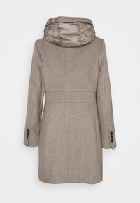 Esprit Collection - HOODED COAT - Classic coat - light taupe - 1