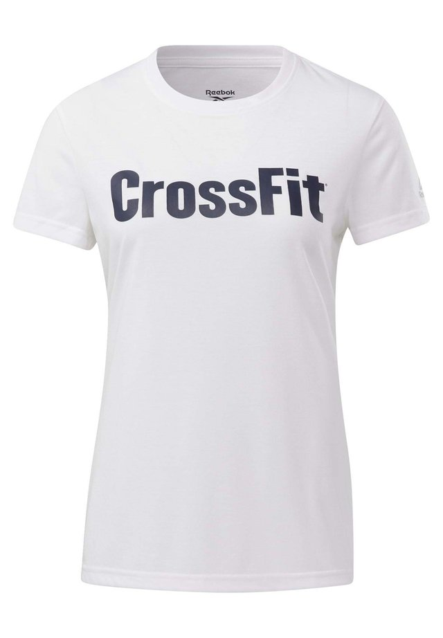 REEBOK  READ GRAPHIC T-SHIRT - T-shirt imprimé - white