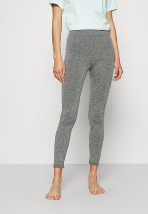 LOUNGE PANTS - Pyjamahousut/-shortsit - heather grey