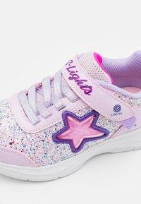 Skechers - GLIMMER KICKS - Tenisky - pink rock glitter/lavender - 5