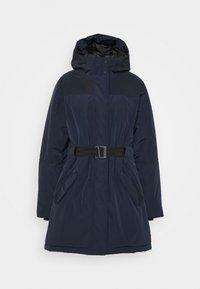 Hunter ORIGINAL - WOMENS ORIGINAL INSULATED - Zimní kabát - navy - 3
