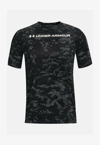 Under Armour - Print T-shirt - pitch gray - 3