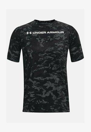 Print T-shirt - pitch gray