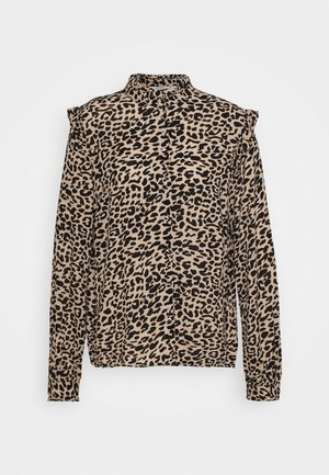 BXJULA - Button-down blouse - golden sand combi