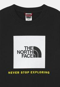 The North Face - BOX CREW UNISEX - Sweatshirt - black/white - 2