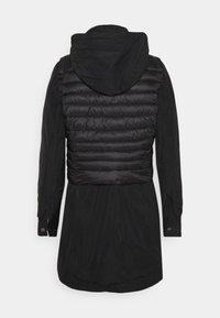 comma - Klasyczny płaszcz - black - 1