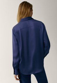 Massimo Dutti - Button-down blouse - blue - 2