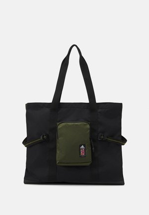 TOTE - Tote bag - black/wild pine