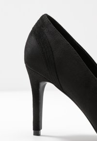Lost Ink - COURT WITH BACK COUNTER DETAIL - High heels - black - 2
