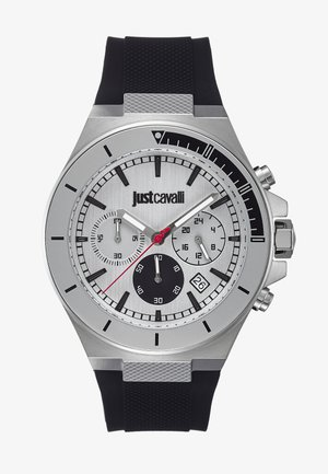 SPORT - Chronograph watch - black/silver-coloured