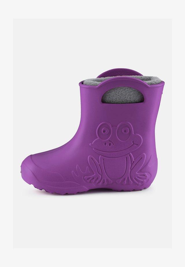 Wellies - purple/grey
