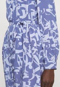 MAX&Co. - PERUGIA - Shirt dress - light blue - 5