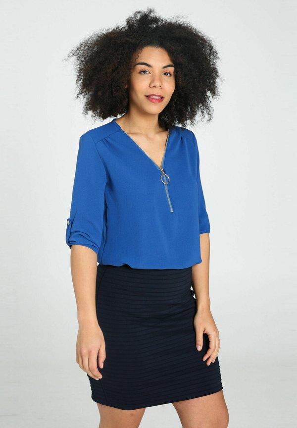 Cassis Bluzka - royal blue/niebieski FTYJ