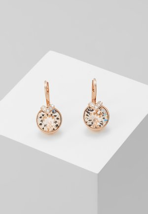 BELLA - Earrings - rose gold-coloured/transparent