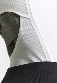 Nike Performance - YOGA LUXE HENLEY BODYSUIT - Leotard - summit white - 6