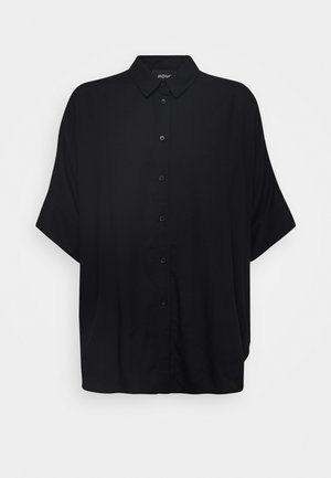 LUCA BLOUSE - Skjorte - black dark