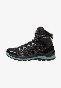 Lowa - INNOX PRO GTX MID - Hiking shoes - schwarz/sage - 0