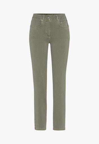 Straight leg jeans - salvia varied