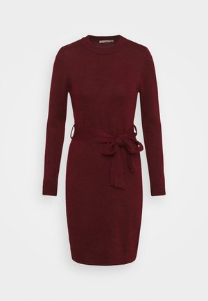 Jumper dress - Pouzdrové šaty - dark red