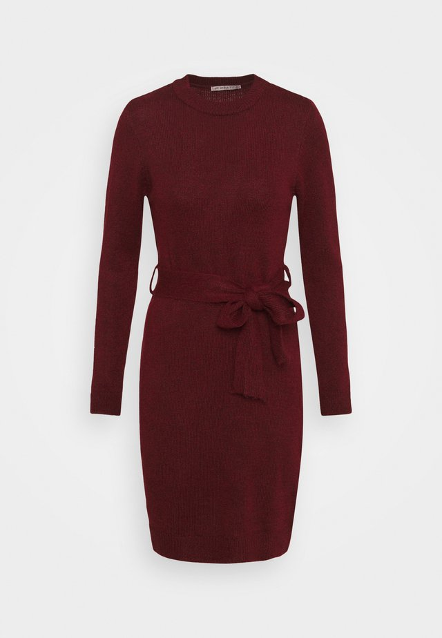 Jumper dress - Tubino - dark red