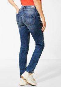 Cecil - DENIM MIT KORDEL-GALON - Slim fit jeans - blau - 2