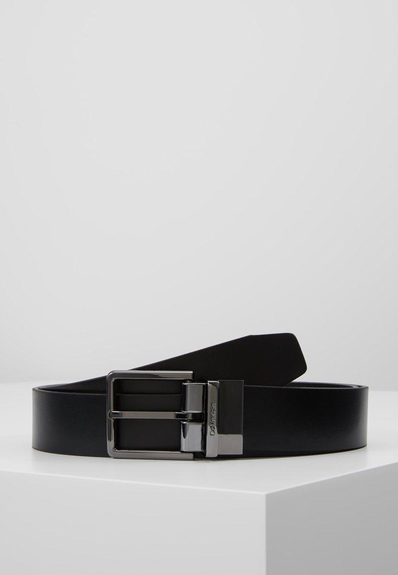 Calvin Klein - LOGO BELT - Pásek - black
