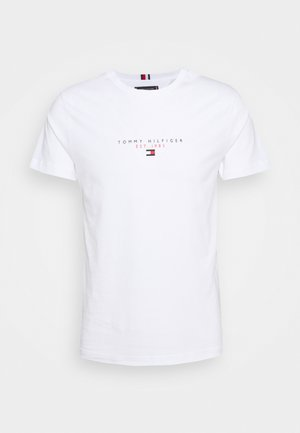 ESSENTIAL - T-shirt med print - white