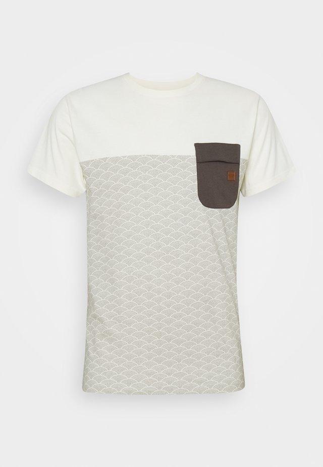 ALFORD - Print T-shirt - raven