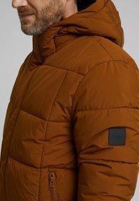 Esprit - BASIC PUFFER - Winter jacket - toffee - 3