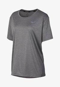 Nike Performance - DRY MILER PLUS - Basic T-shirt - gray - 0