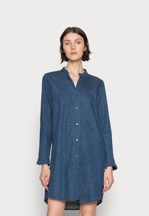 PAOLA SHIRT DRESS - Day dress - blue wash